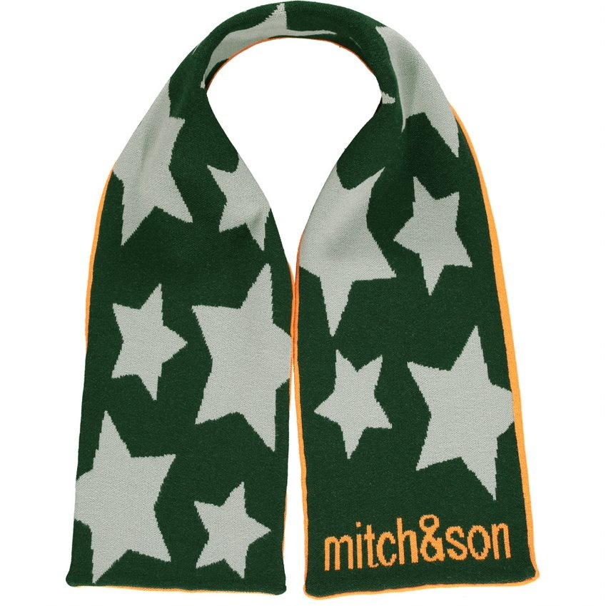 Mitch and Son Mitch & Son AW21 Moir Knitted Scarf