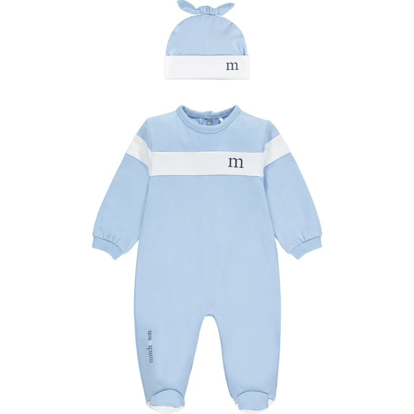 Mitch and Son Mitch & Son AW21 Houston Babygrow with Hat