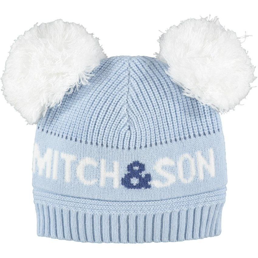 Mitch and Son Mitch & Son AW21 Hyde Double Pom Pom Hat