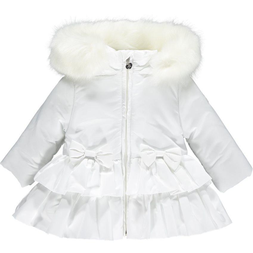Little A Little A AW21 Audrey Frill Faux Fur Trim Jacket