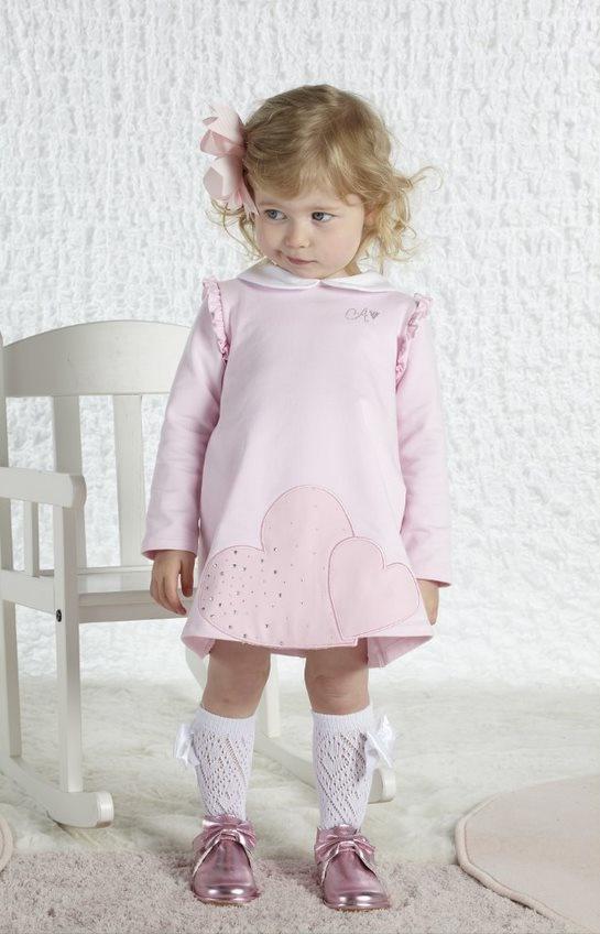 Little A Little A AW21 Arlene Heart Dress