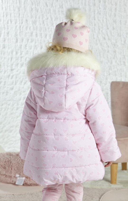 Little A Little A AW21 Addison Faux Fur Trim Jacket