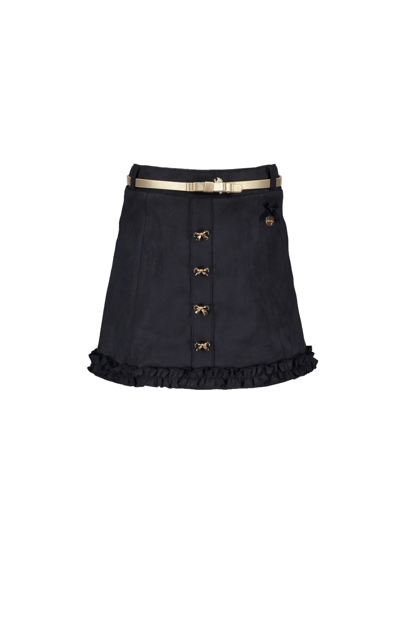 Lechic Le Chic Girls Suede Skirt with Belt