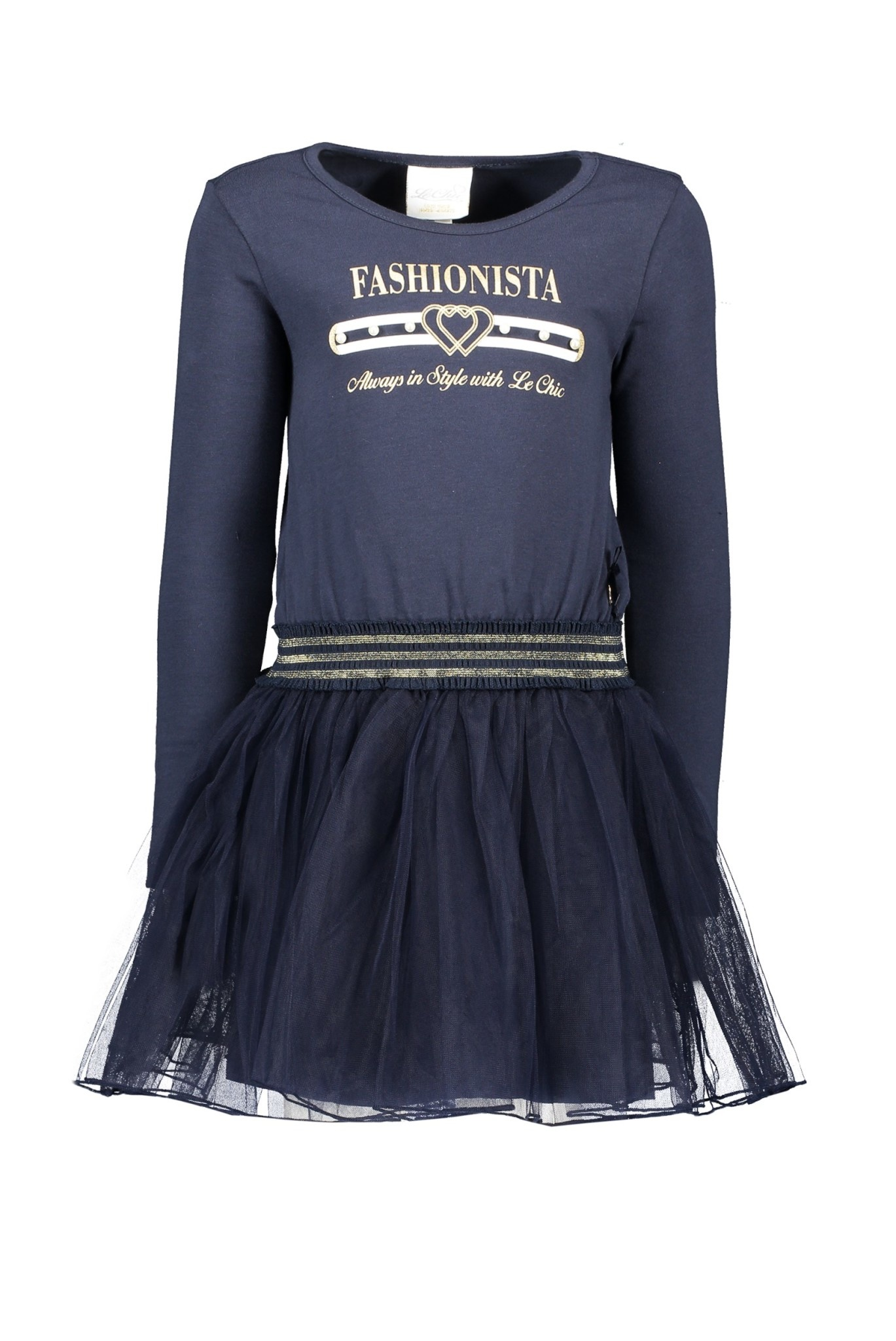 Lechic Le Chic Navy Fashionista Dress