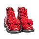 Lelli Kelly LELLI KELLY LK6522 Red Glitter Crystal Bow Ankle Boot