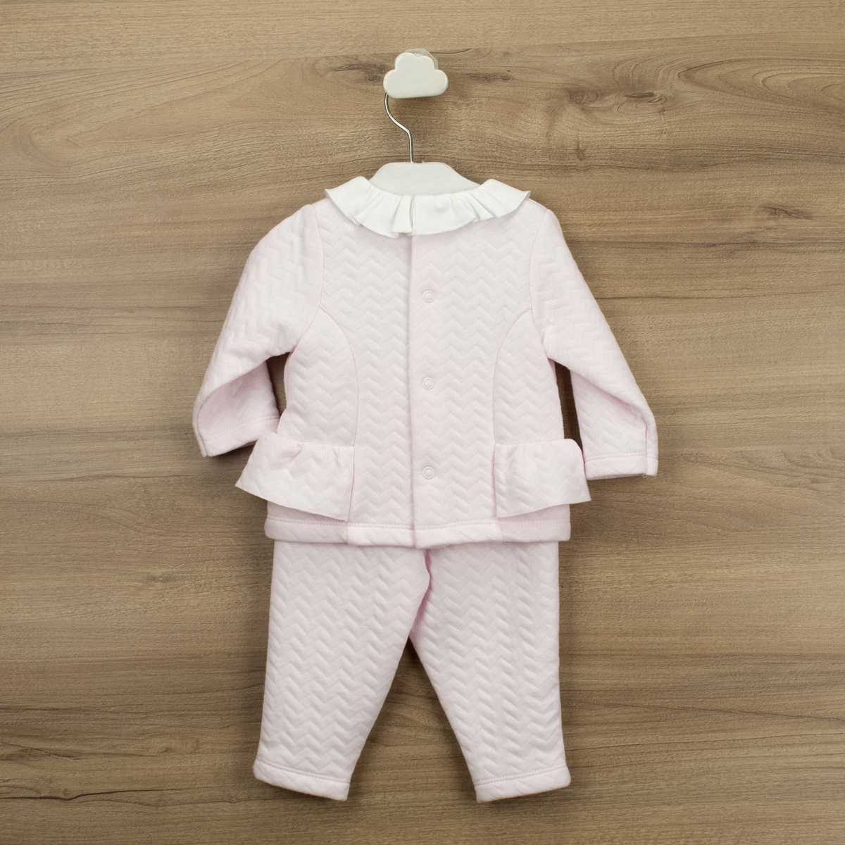 Babidu Pink Zig Zag Trouser Set - 61555