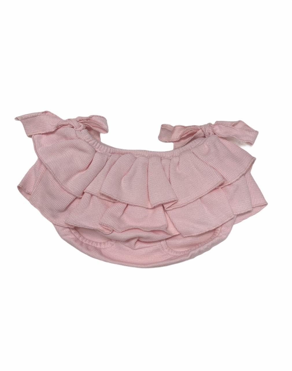 Babidu Babidu Girls Frill Bodysuit and Pants Set - 30265 / 1191
