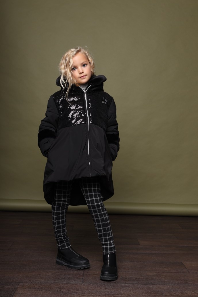 Lechic Le Chic AW21 Blyss Sequin Coat 5209