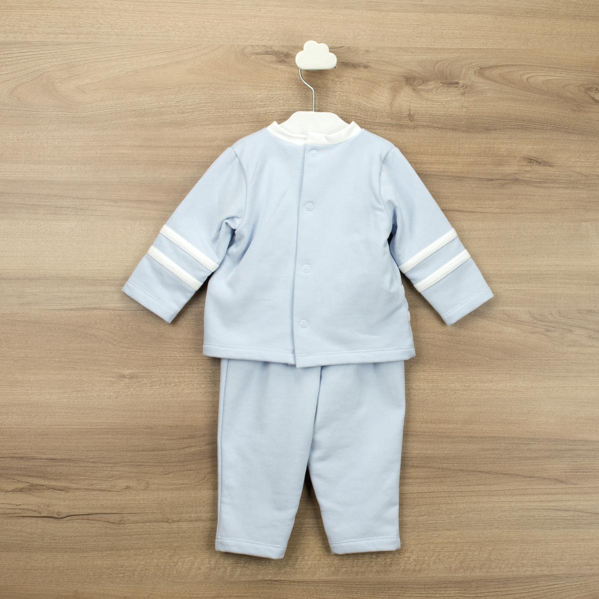 Babidu Babidu Boys Blue and White Stripe Tracksuit - 61390