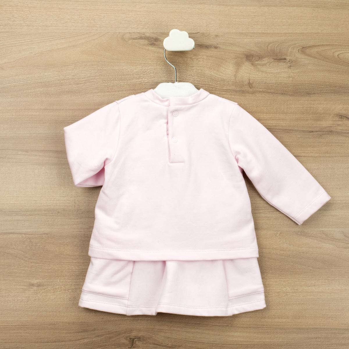 Babidu Babidu Girls Pink Ruffle Skirt Set - 41390