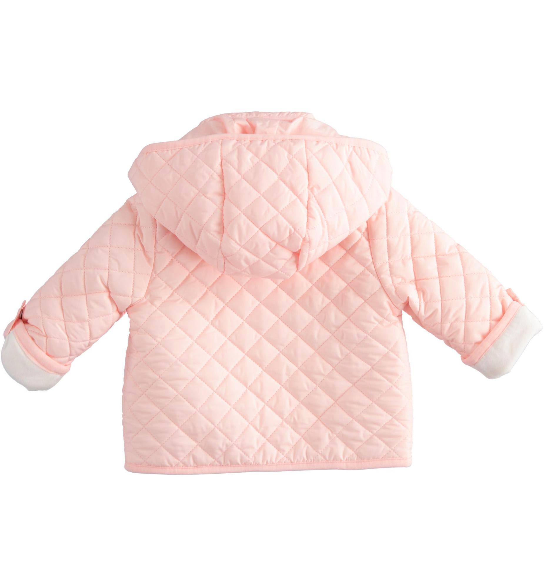 Ido iDO Pink Padded Bear Jacket - 43299