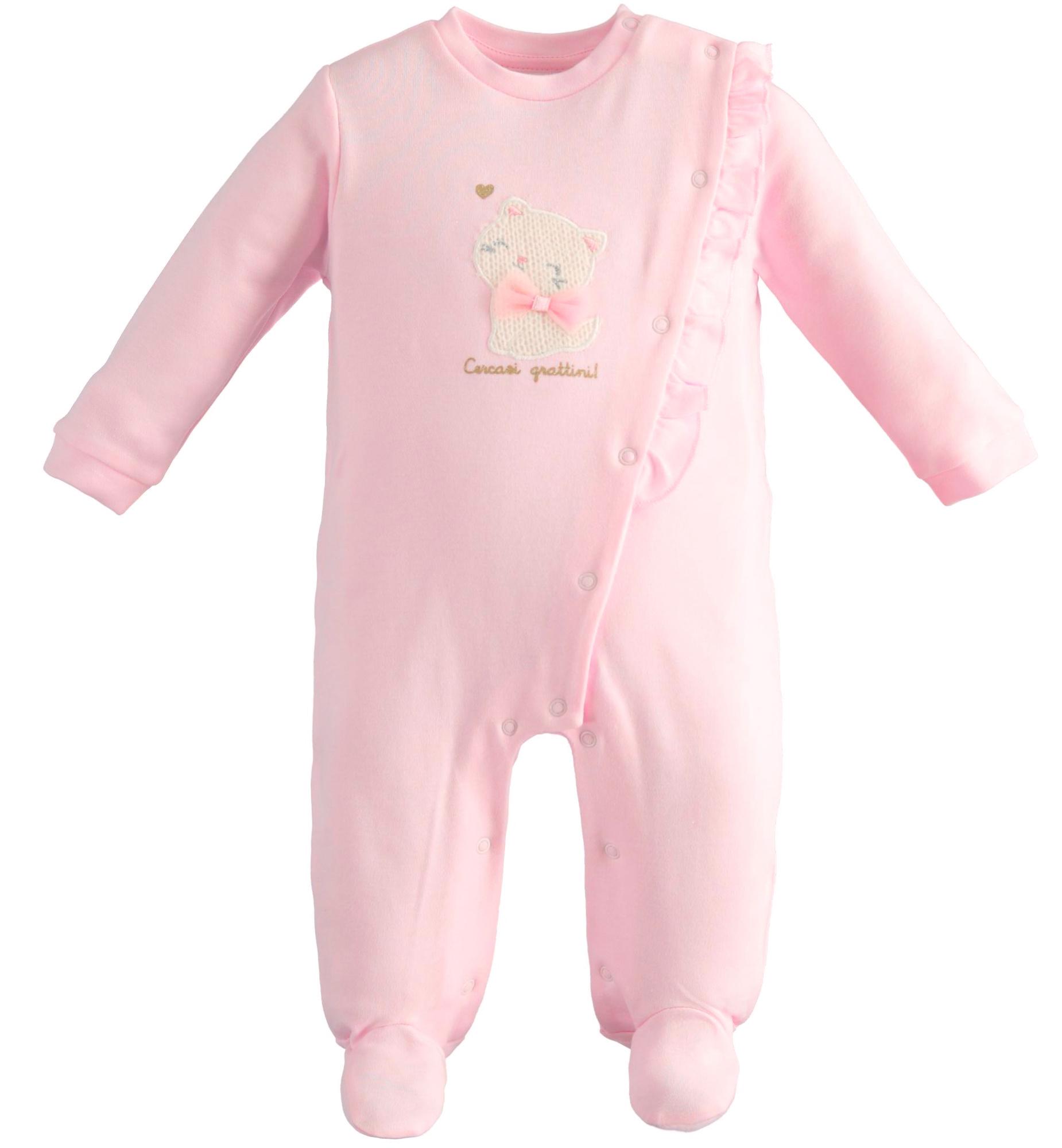 iDO Pink Frill Babygrow AW21