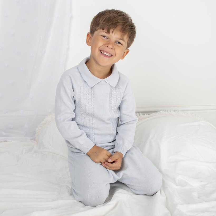Caramelo Caramelo Boys Knitted Leisure Set 205034
