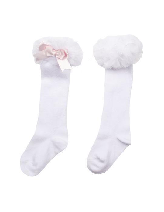 Caramelo Caramelo Tutu Knee Length Socks - 4015