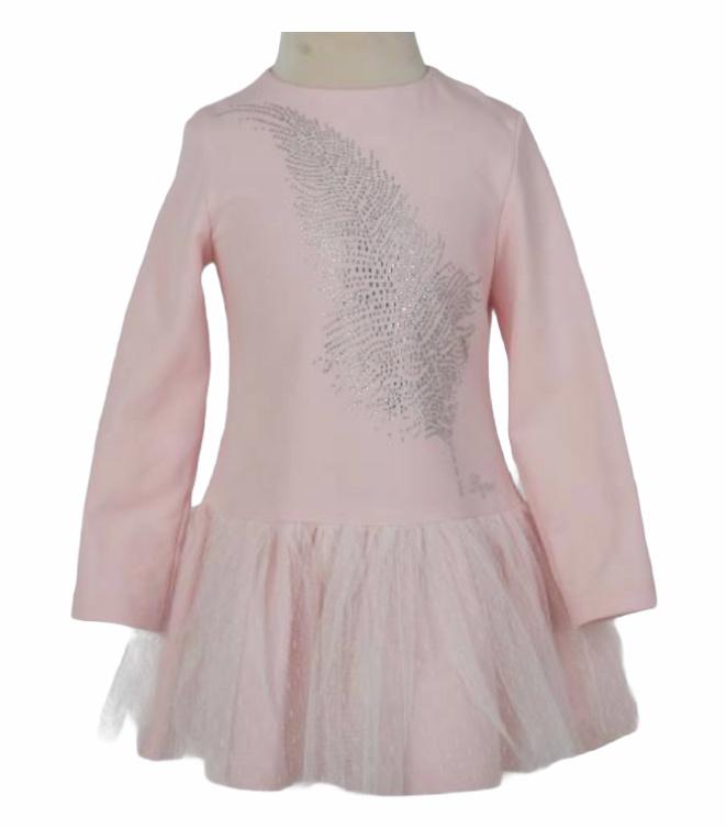 DAGA  Diamonte Feather Dress M8418