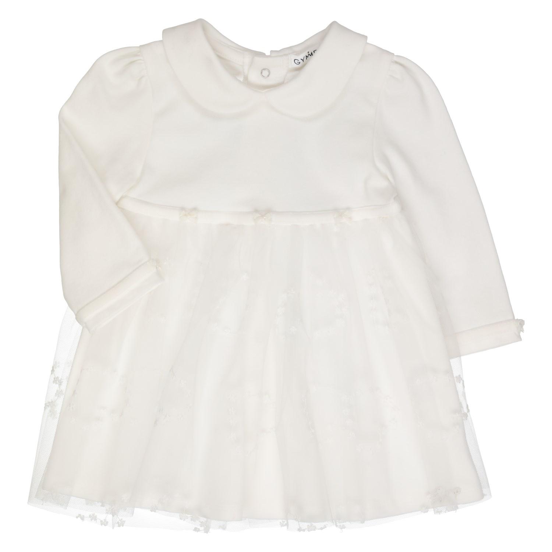 Gymp Girls Long Sleeve Tulle Dress - 1910