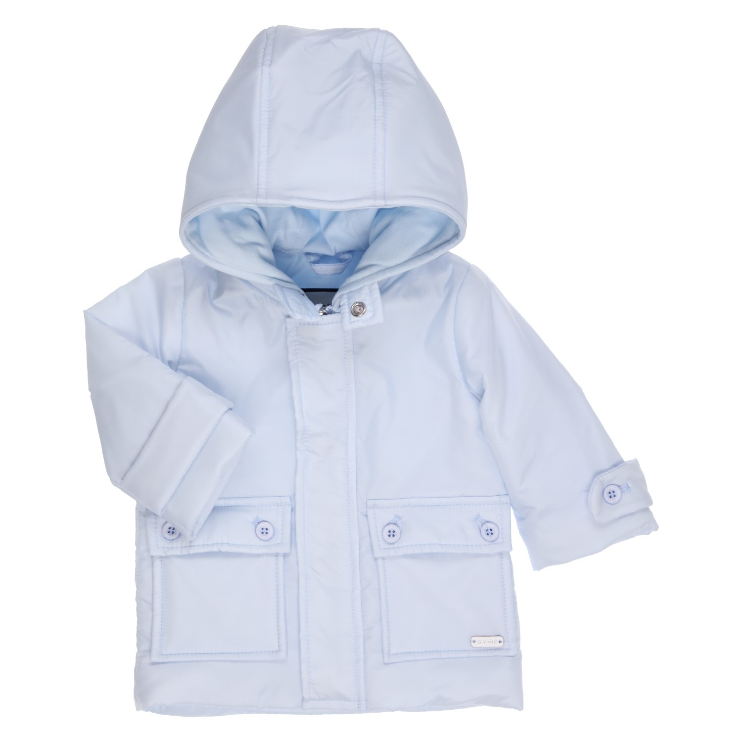 Gymp Gymp Blue Coat with Hood - 1845