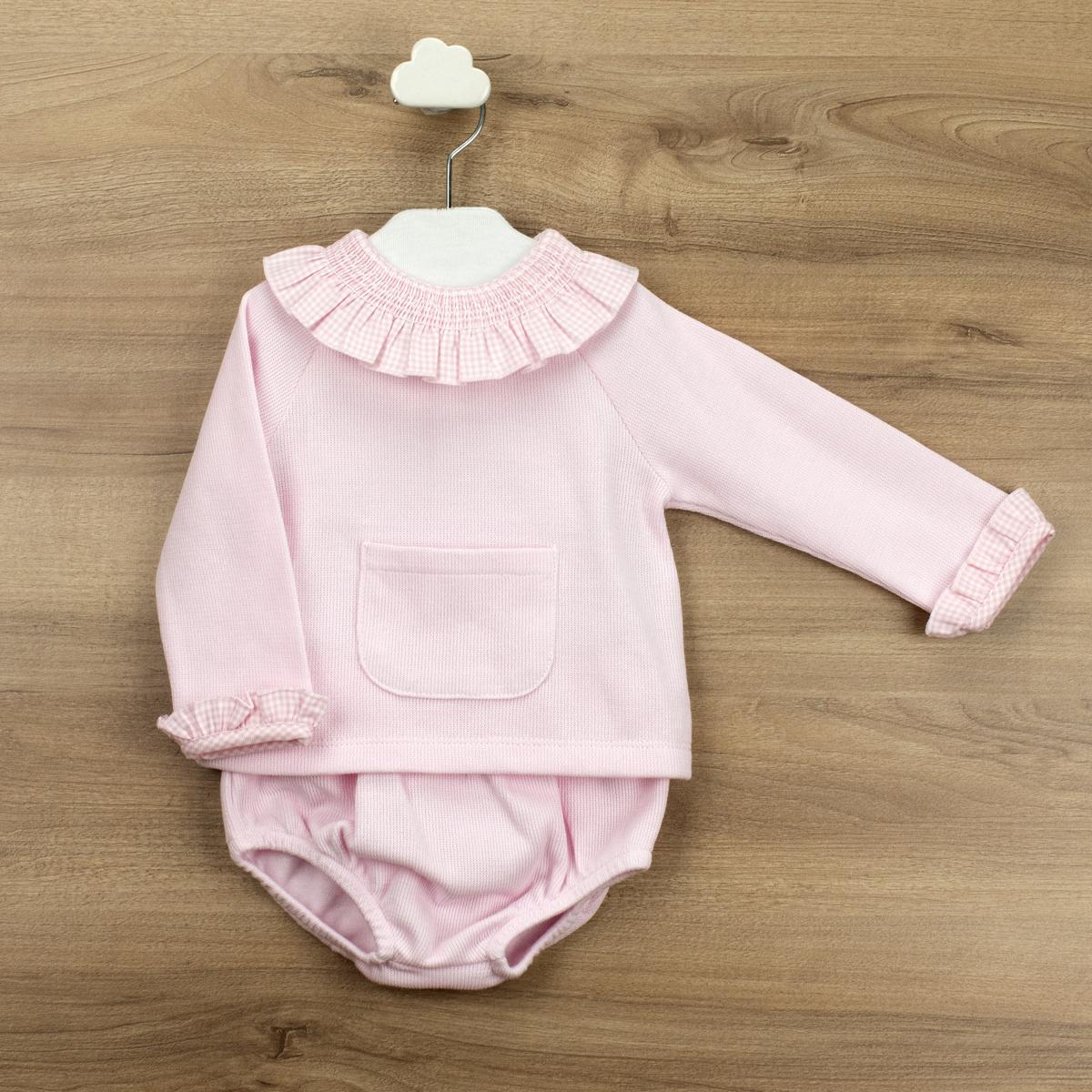 Babidu Pink Knitted 2 Piece - 43365