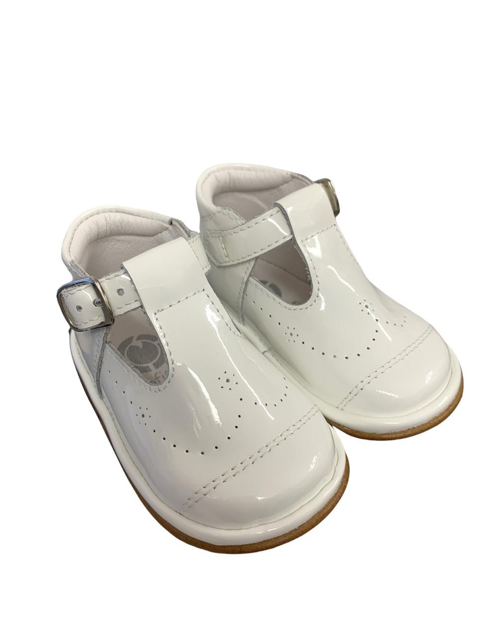 Fofito Fofito Alvaro Boys White Patent Shoe - 2976