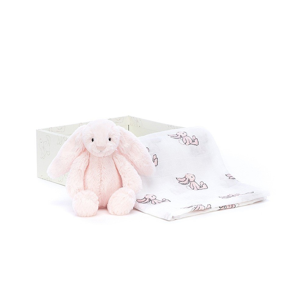 Jelly Cat Jellycat Bashful Bunny Gift Set