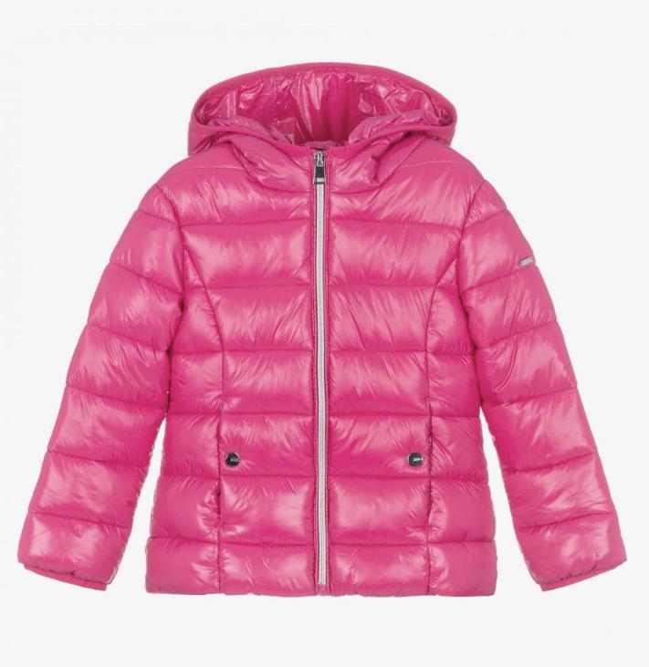 Ido iDO Pink Padded Coat 43321 AW21