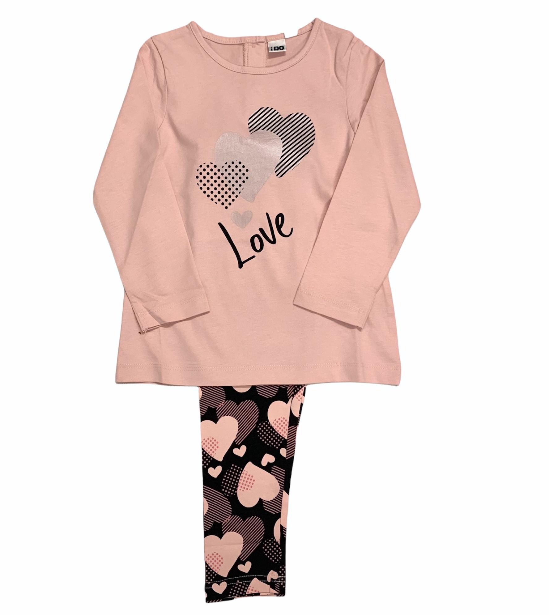 Ido iDO Love Heart Legging Set AW21
