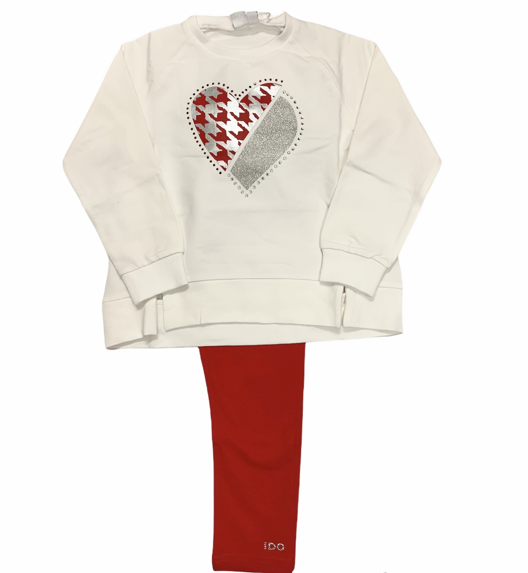 Ido iDO Love Heart Sweatshirt Set