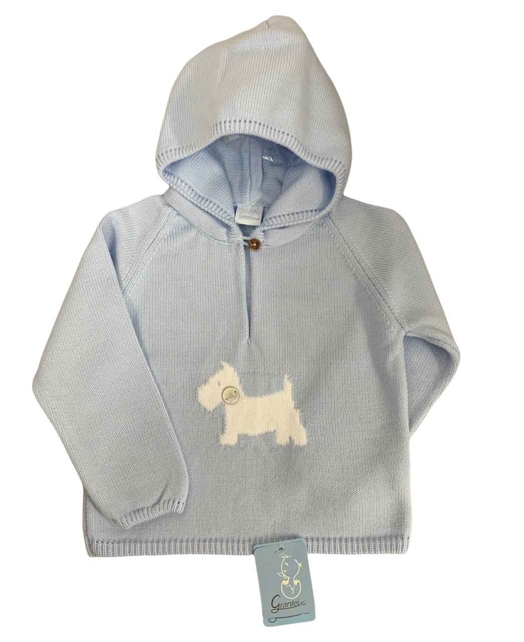 Artesania Granlei Granlei Boys Hooded Knit Jumper - 2290 AW21