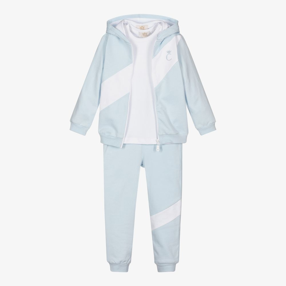 Caramelo Caramelo Boys Hooded Tracksuit - 101354 AW21