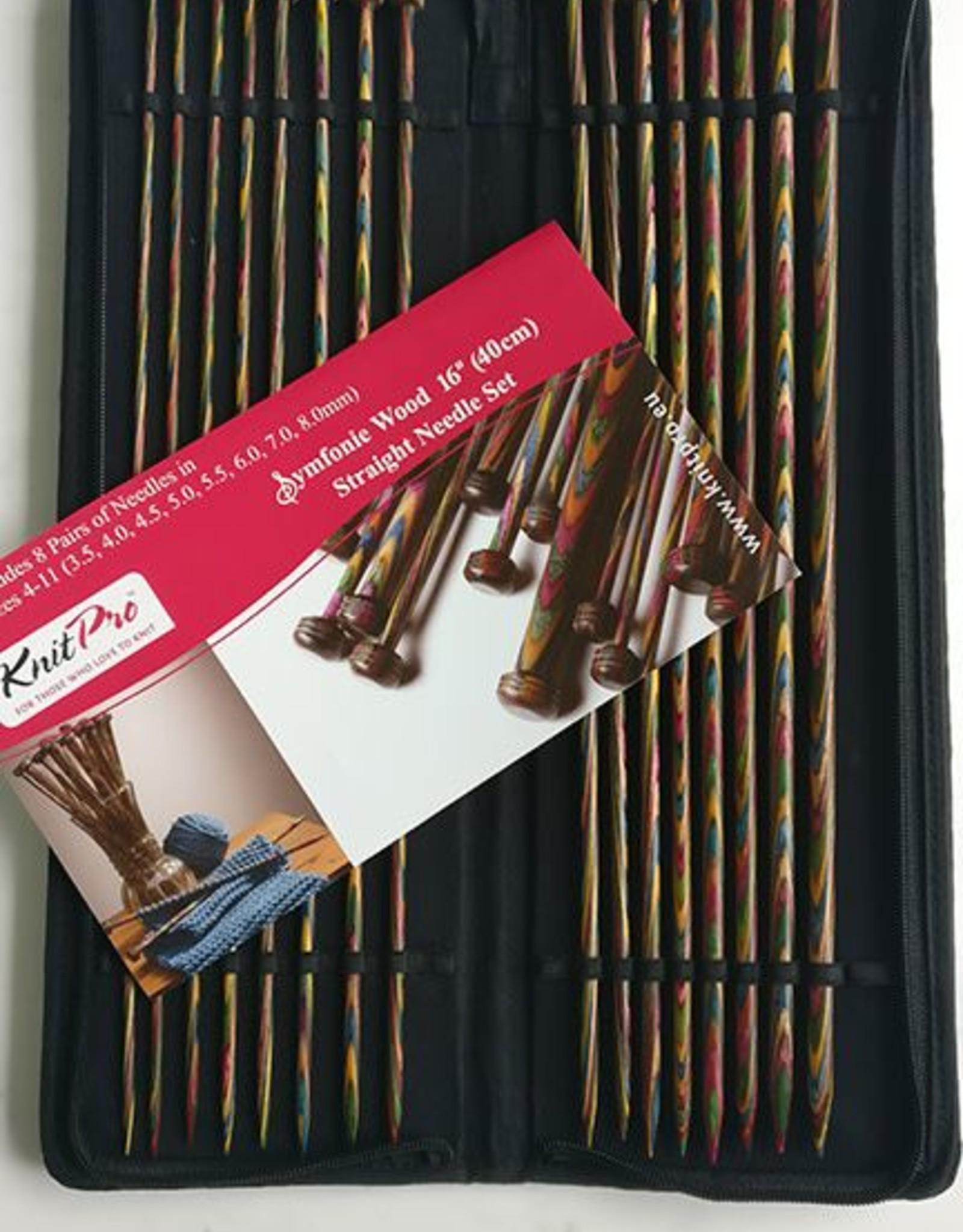 KnitPro KnitPro Symfonie - Breinaaldenset met knop 40cm