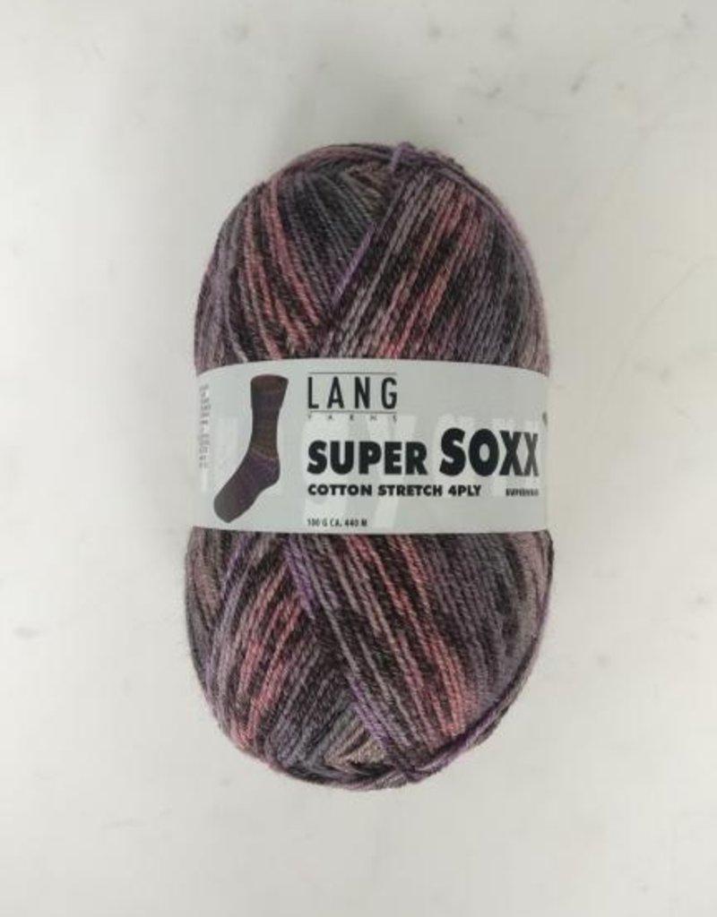 Lang Yarns Lang Yarns - Super SOXX Cotton stretch 4ply 905.0026