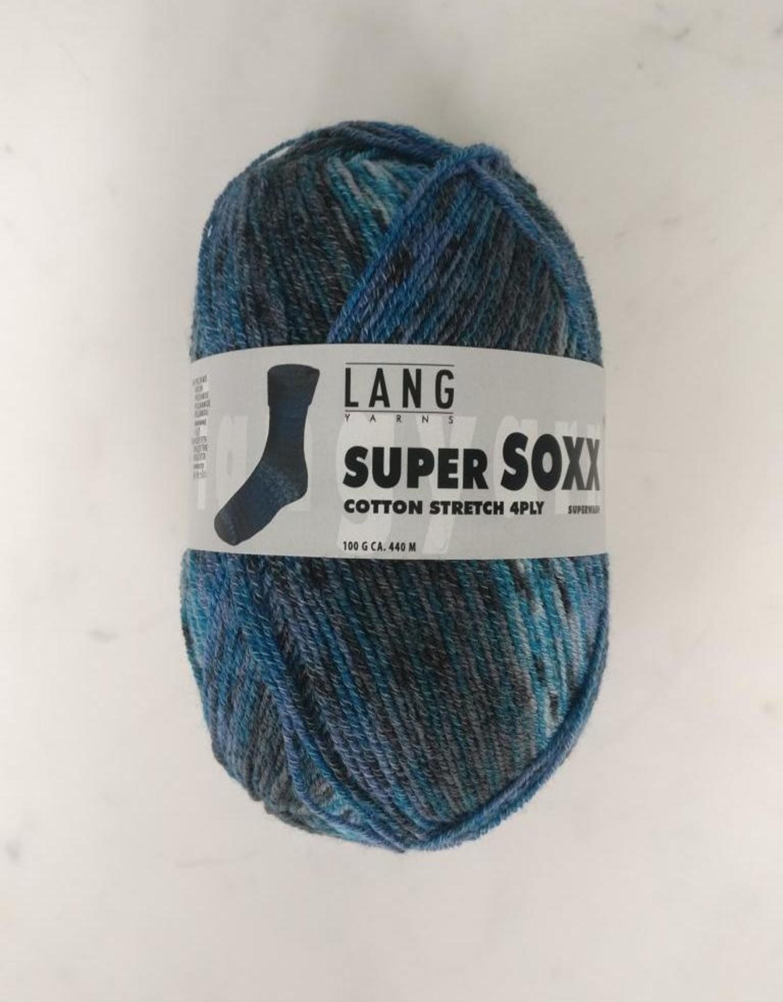 Lang Yarns Lang Yarns - Super SOXX Cotton stretch 4ply 905.0028