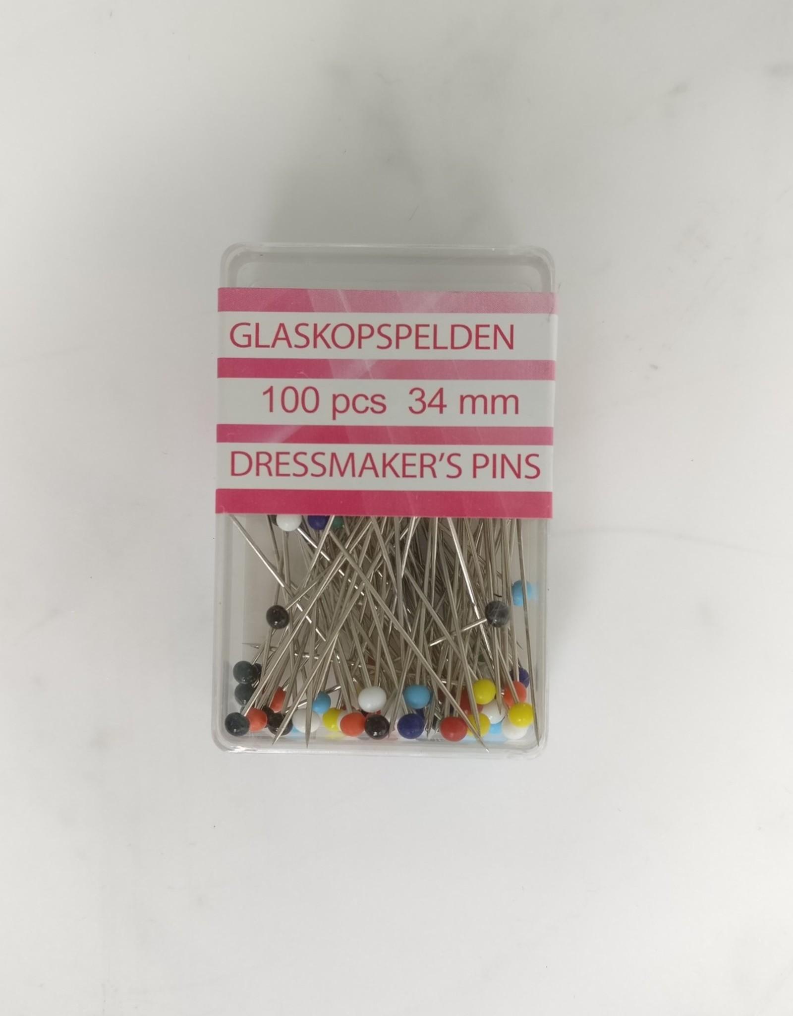 Opry Opry - glaskopspelden 100 stuks