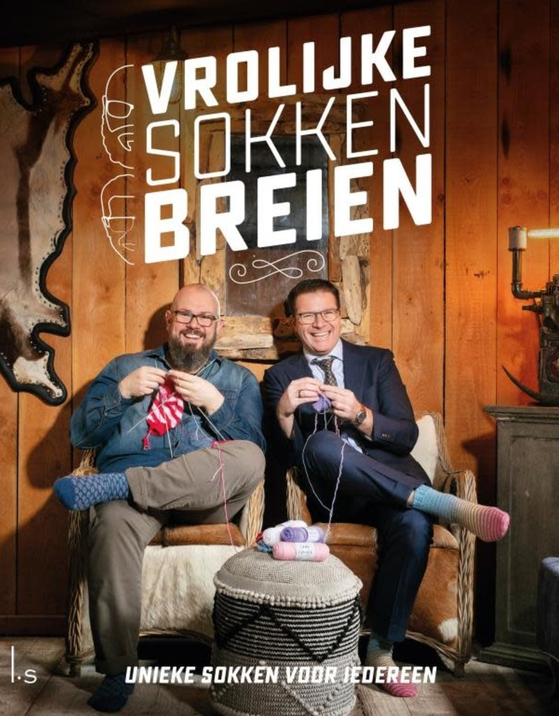 Lang Yarns Vrolijke sokken breien - boek