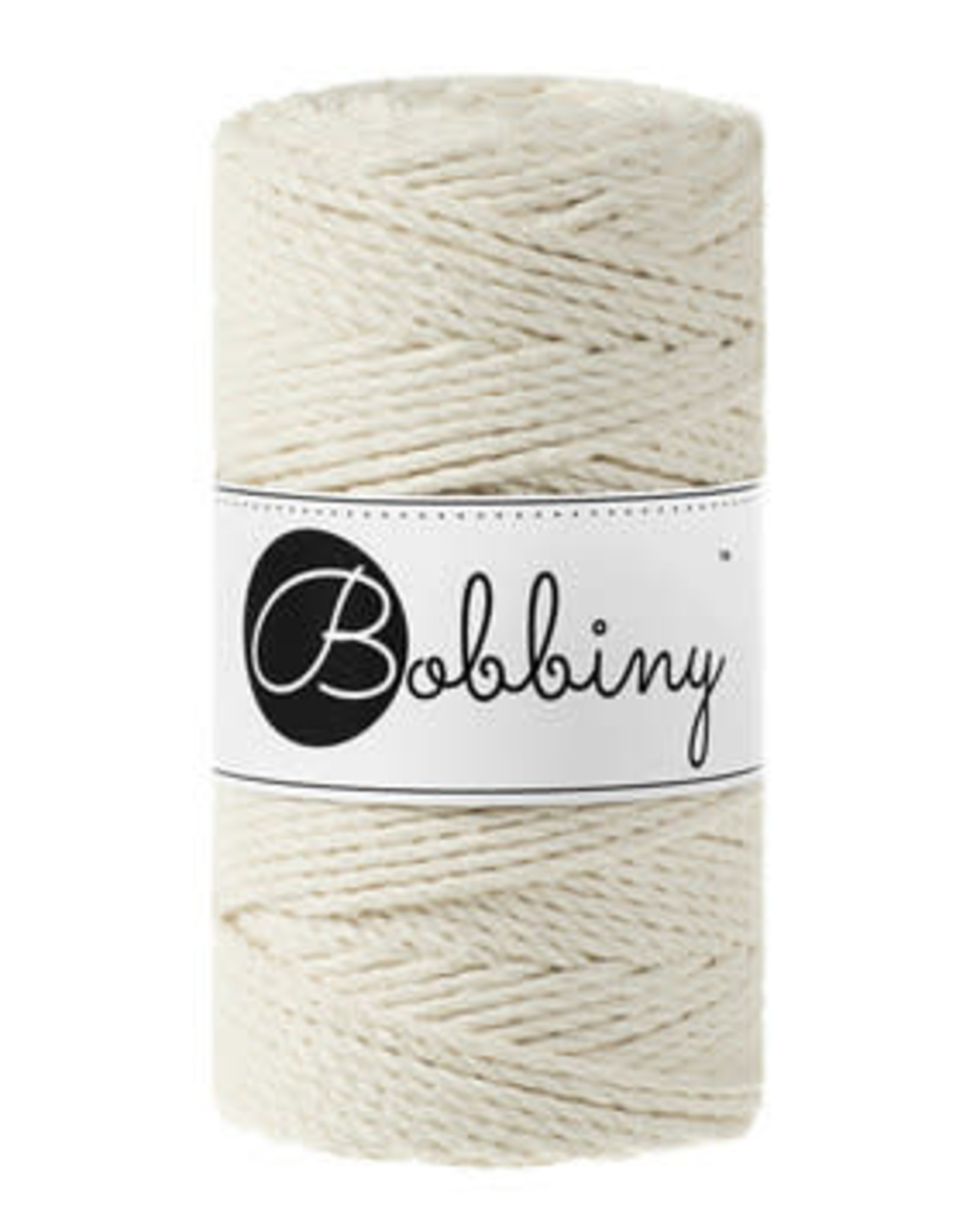 Bobbiny Bobbiny - Macramé Triple Twist 3MM Naturel