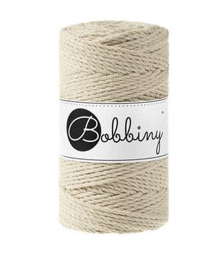 Bobbiny Bobbiny - Macramé Triple Twist 3MM Beige