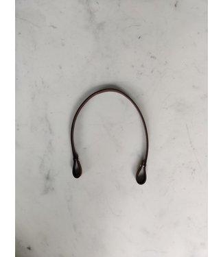Bobbiny Bobbiny - Leren Tassenhengsel 50cm Cognac zonder musketonhaak