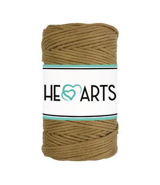 HEARTS HEARTS - Macramé koord single twist - Caramel 3mm