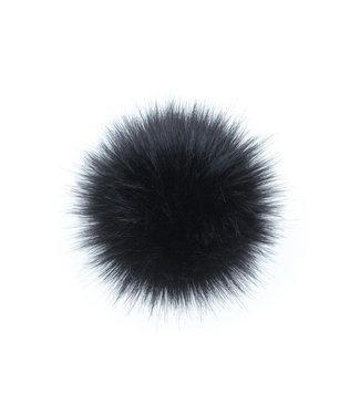 Lovafur Lovafur - Pompon Fox Black 15cm