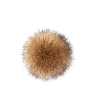 Lovafur Lovafur - Pompon Fox Camel 15cm