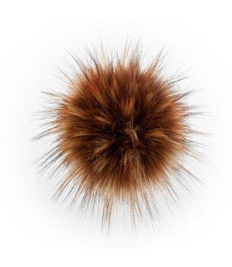 Lovafur Lovafur - Pompon Raccoon Brownie 18cm
