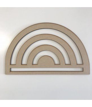 Bobbiny Bobbiny - houten regenboog