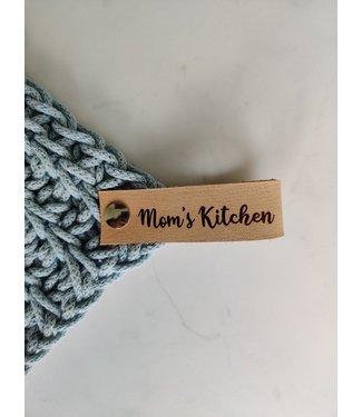 Bobbiny Bobbiny - leren pannenlap lus - Mom's kitchen