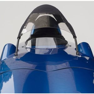 Flevobike Windshield for Velomobile roof