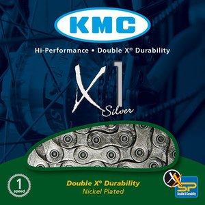 KMC Chain GreenMachine rear KMC X1