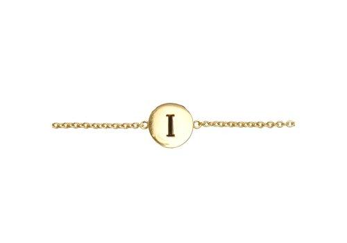 All the Luck in the World Bracelet letter I