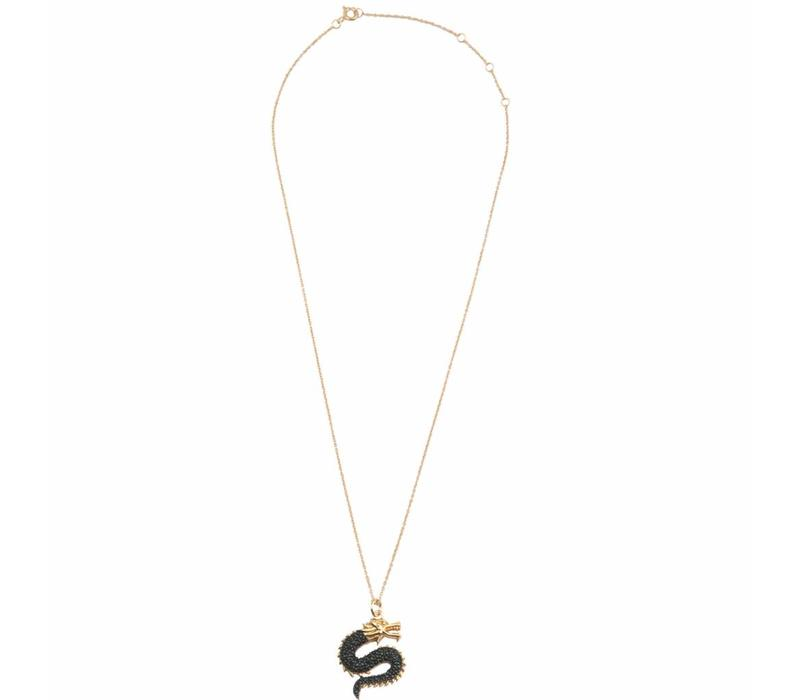 Necklace Big Dragon gold