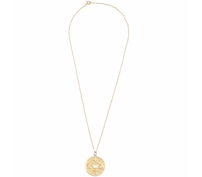 Necklace Lucky Coin gold
