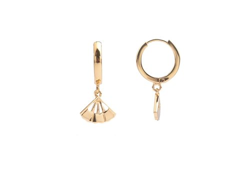 All the luck in the world Earring Fan gold