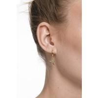 Earring Crane gold